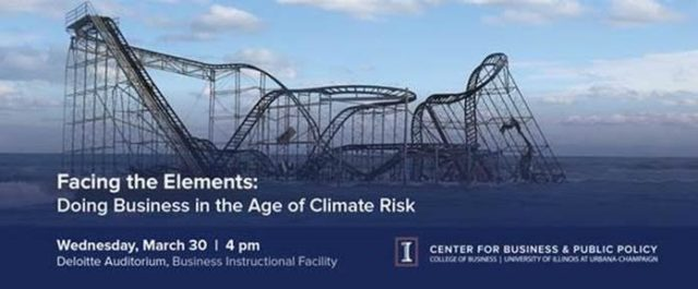 Facing the Elements: Climate Shock book talk