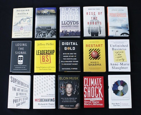 FT McKinsey Business Book of the Year 2015 longlist