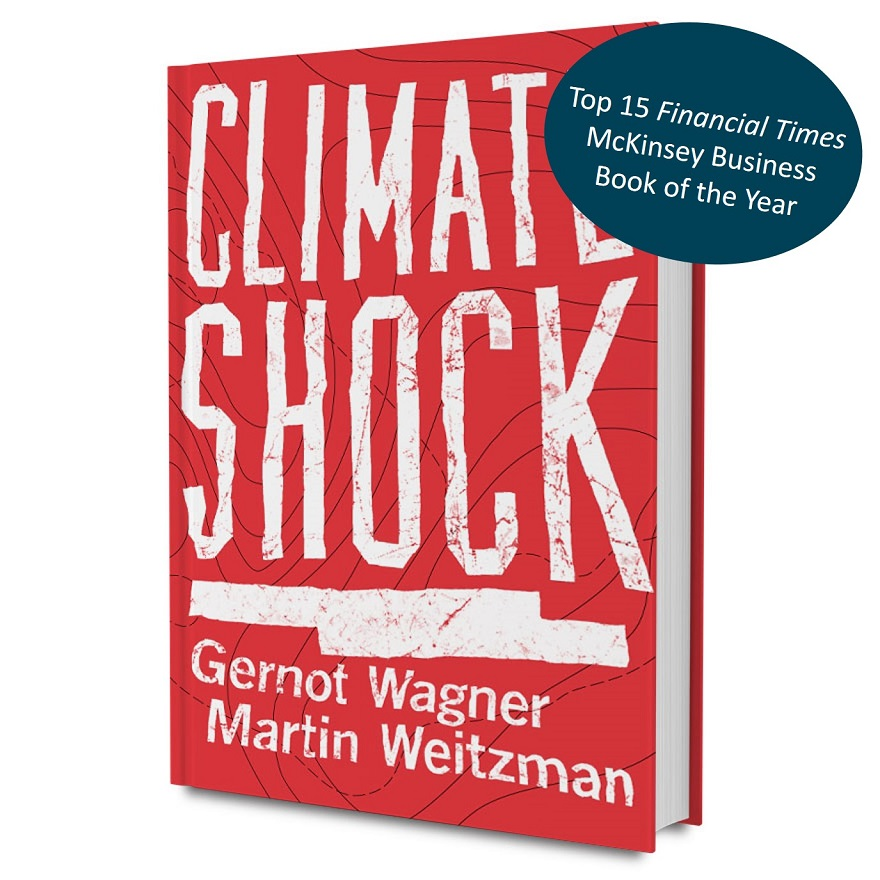 Climate Shock Top 15 FT McKinsey Business Book of the Year Award