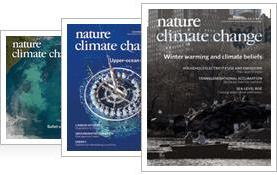 December 2014 Nature Climate Change